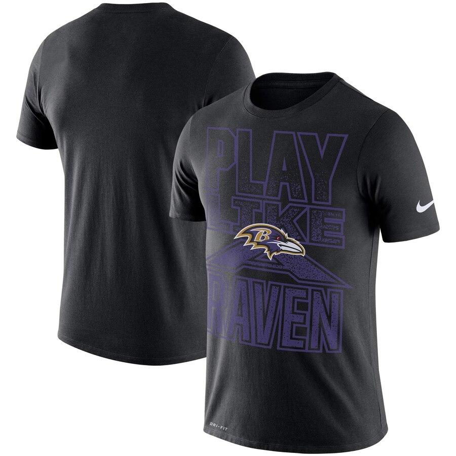Baltimore Ravens Nike Local Verbiage Performance T-Shirt Black