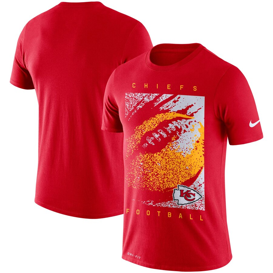 Kansas City Chiefs Nike Fan Gear Mezzo Icon Performance T-Shirt Red