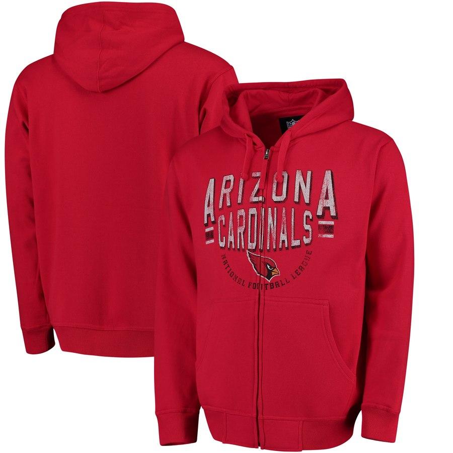 Arizona Cardinals G-III Sports by Carl Banks Post Season Full-Zip Hoodie Cardinal
