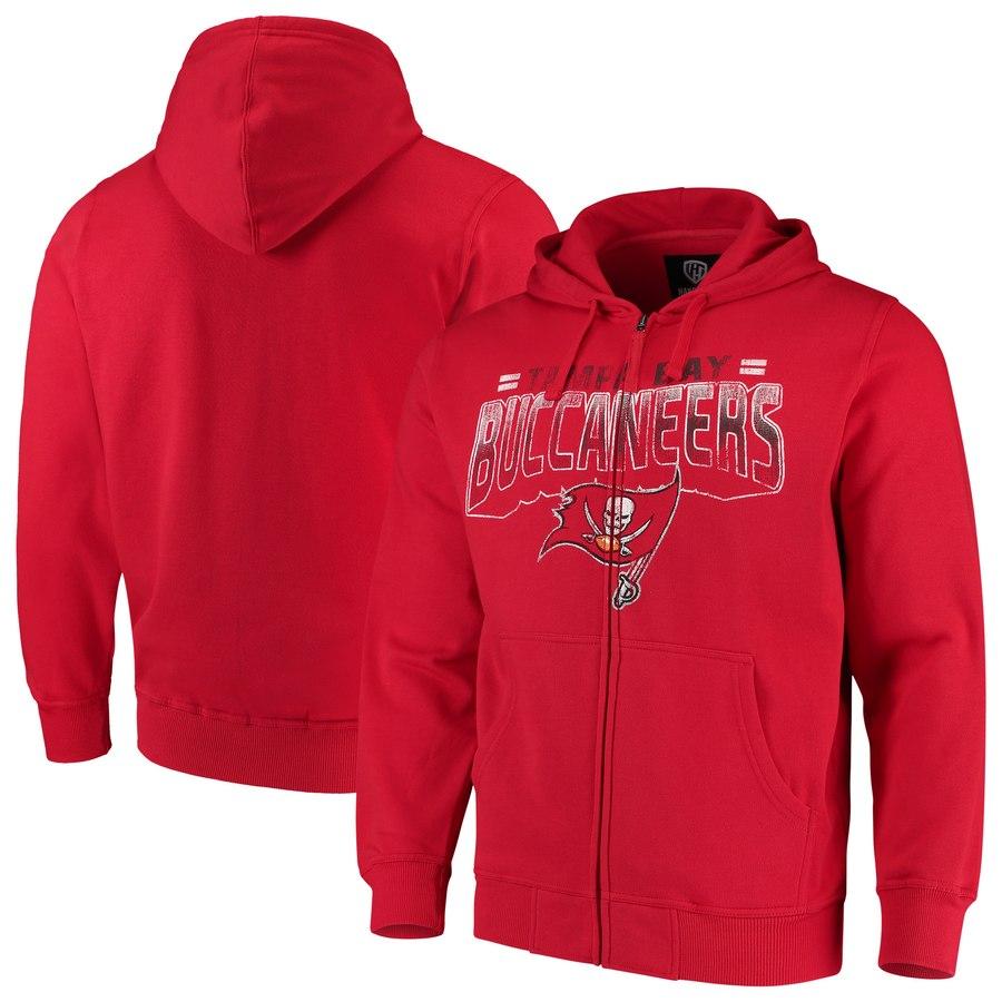 Tampa Bay Buccaneers G-III Sports by Carl Banks Perfect Season Full-Zip Hoodie Red