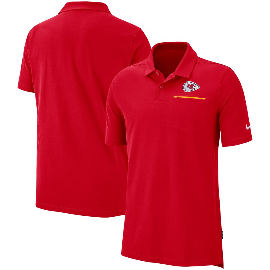 Kansas City Chiefs Nike Sideline Elite Performance Polo Red