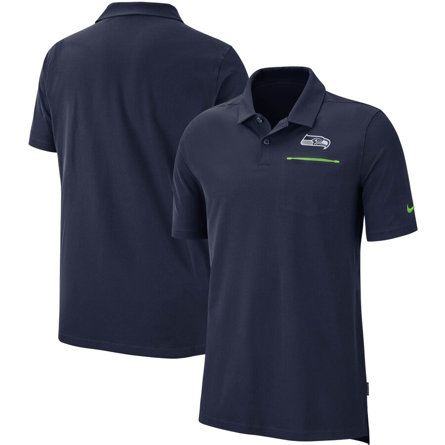 Seattle Seahawks Nike Sideline Elite Performance Polo College Navy