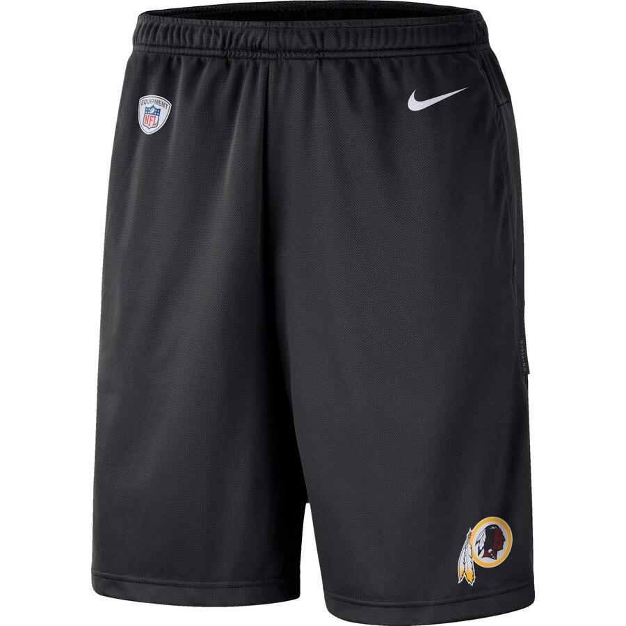 Washington Redskins Nike Sideline Coaches Shorts Black