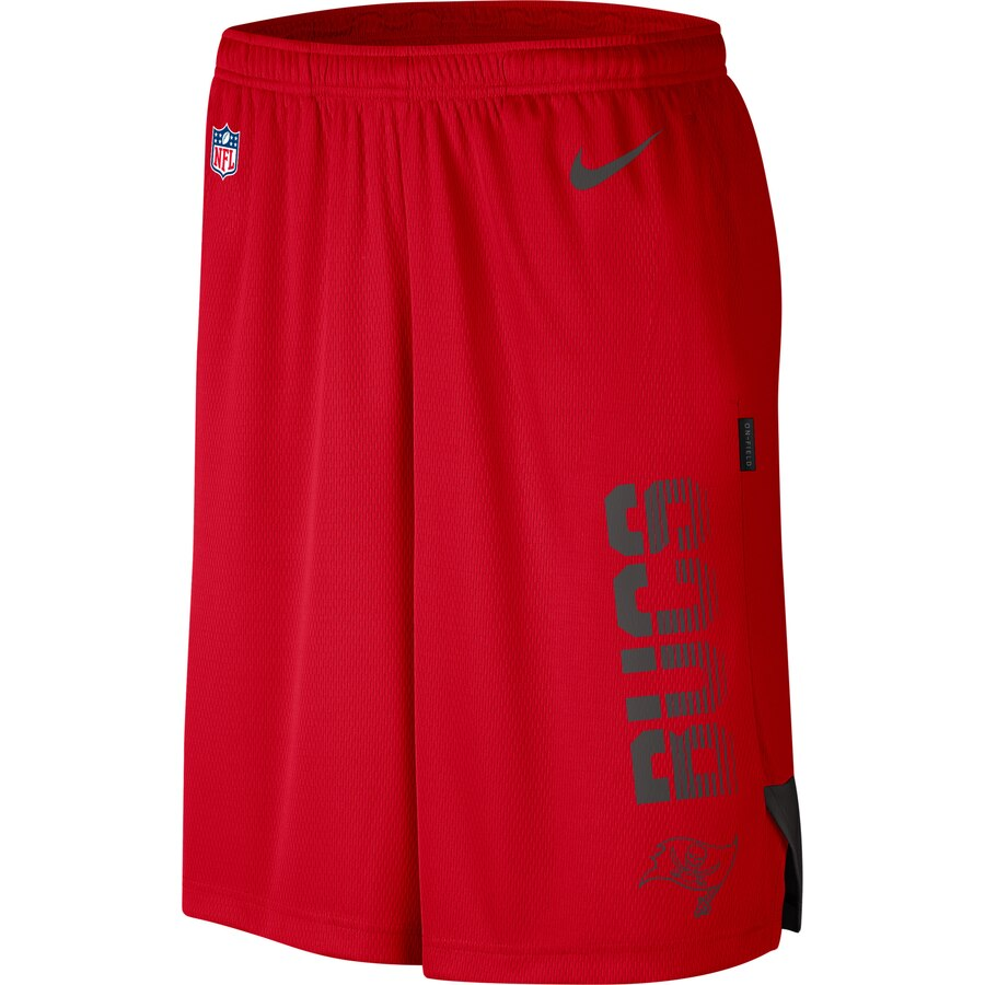 Tampa Bay Buccaneers Nike Sideline Player Knit Performance Shorts Red