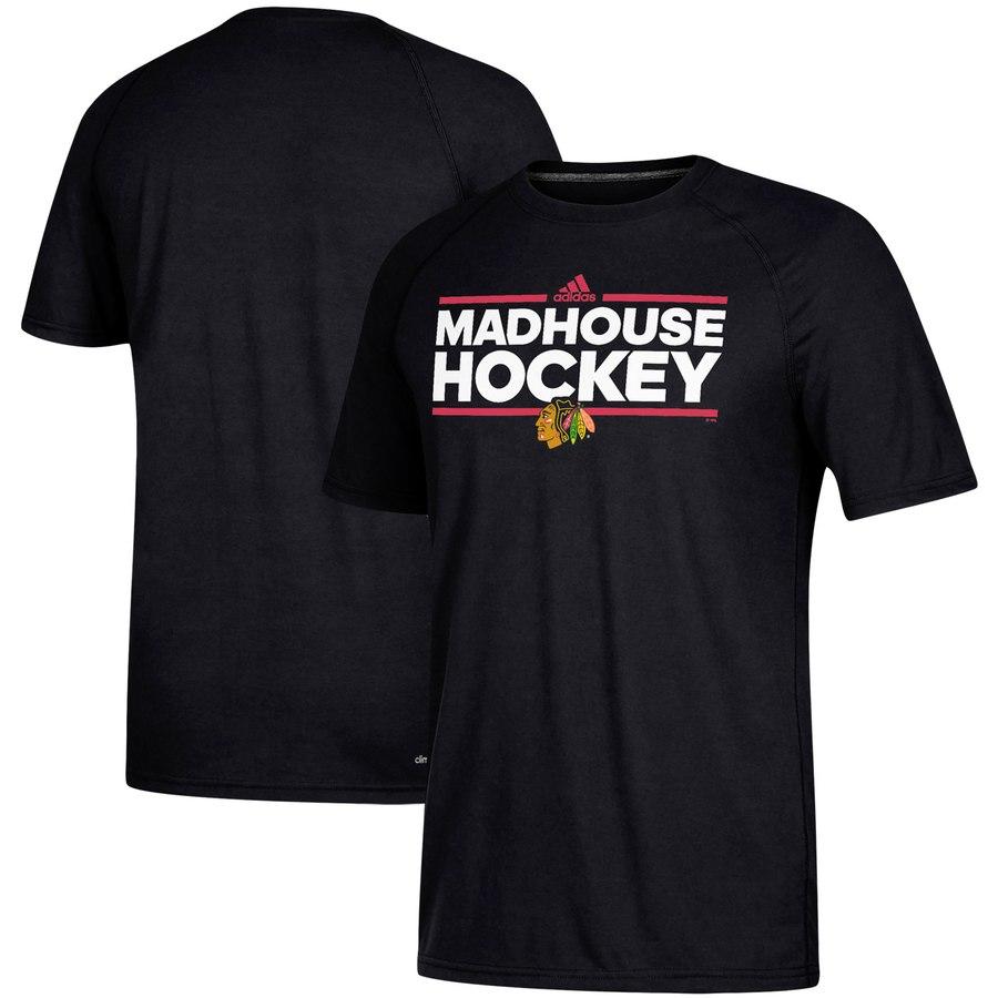 Chicago Blackhawks adidas Local Dassler climalite T-Shirt Black