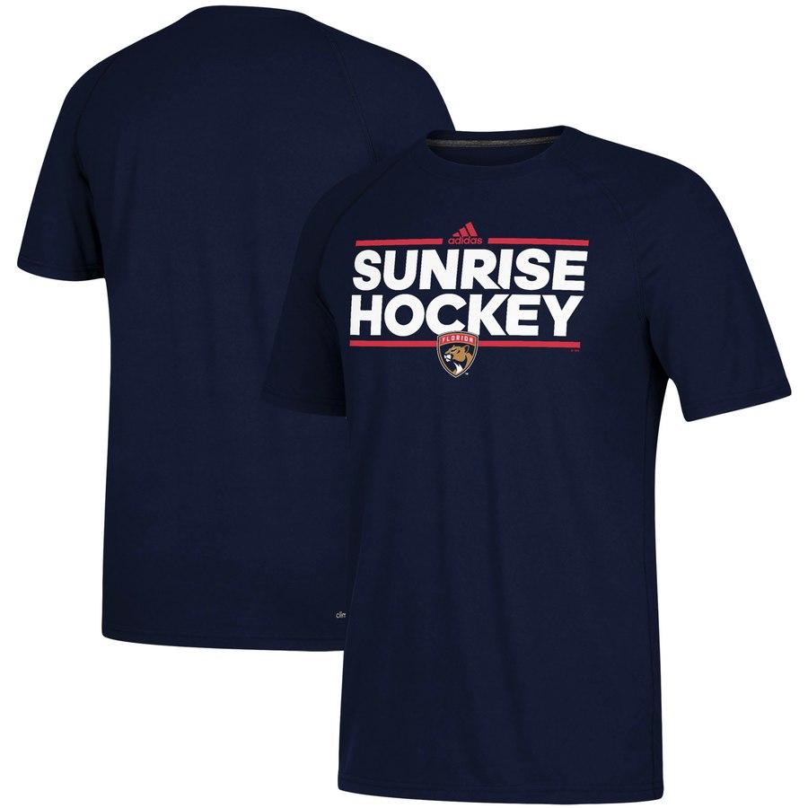 Florida Panthers adidas Local Dassler climalite T-Shirt Navy