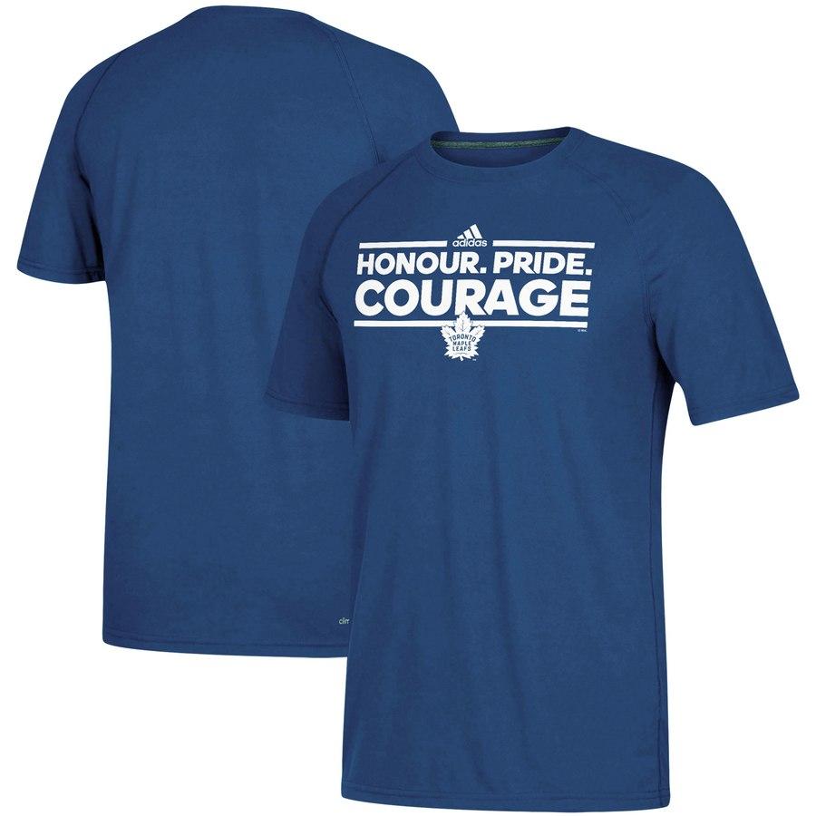 Toronto Maple Leafs adidas Local Dassler climalite T-Shirt Blue