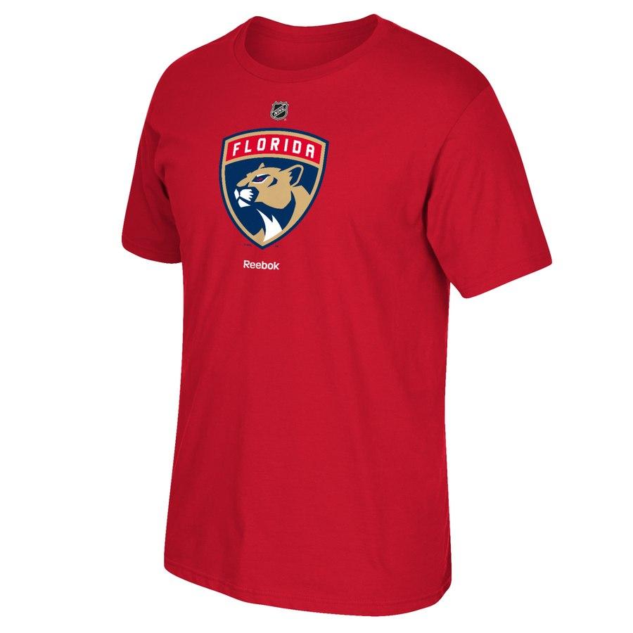 Florida Panthers Reebok Primary Logo T-Shirt Red