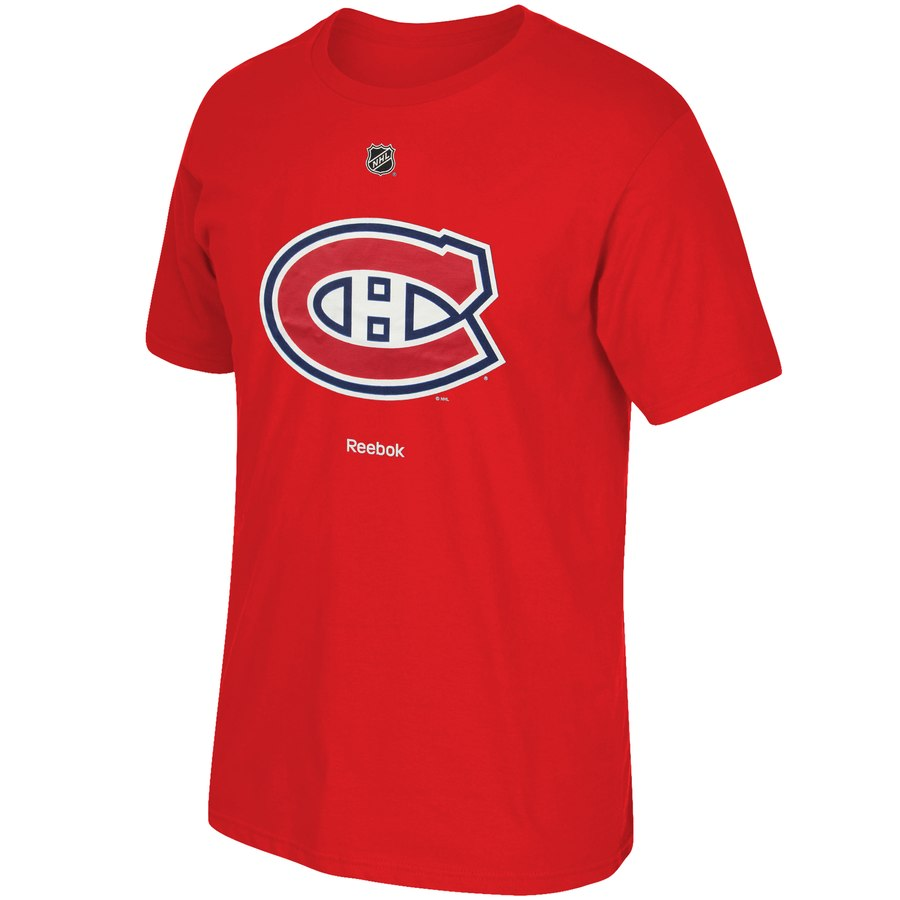 Montreal Canadiens Reebok Primary Logo T-Shirt Red