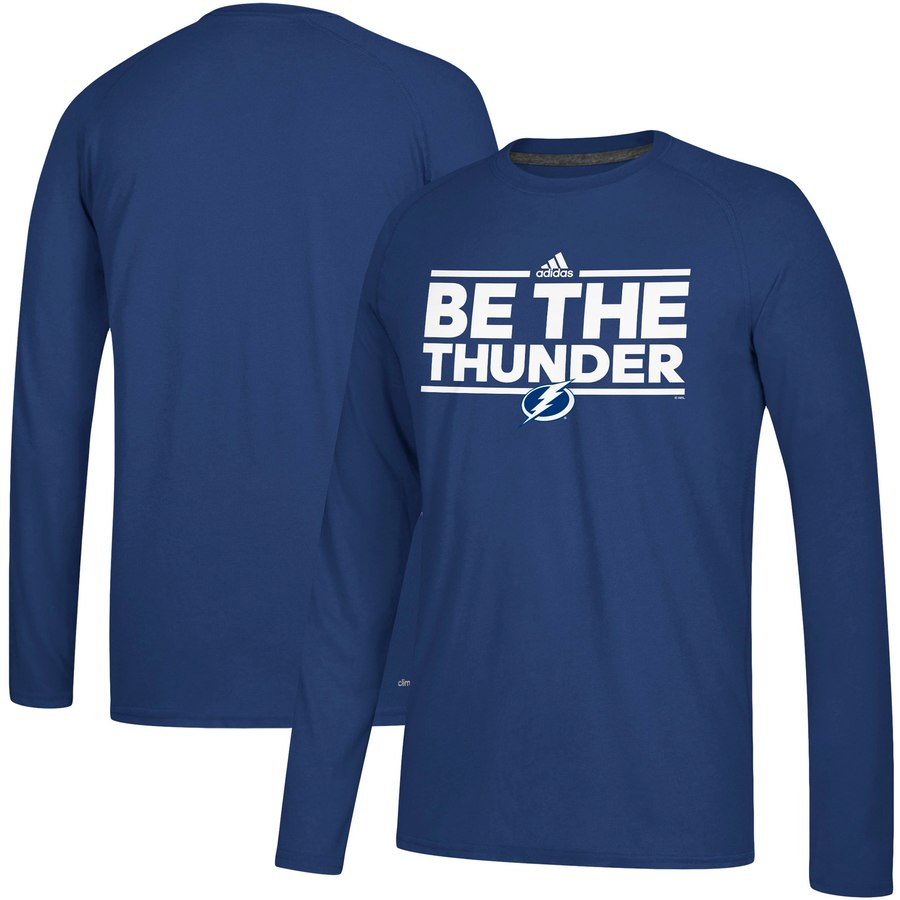 Tampa Bay Lightning adidas Local Ultimate Dassler Long Sleeve T-Shirt Blue