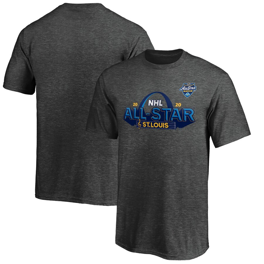 Youth 2020 NHL All-Star Game St. Louis T-Shirt Heather Gray
