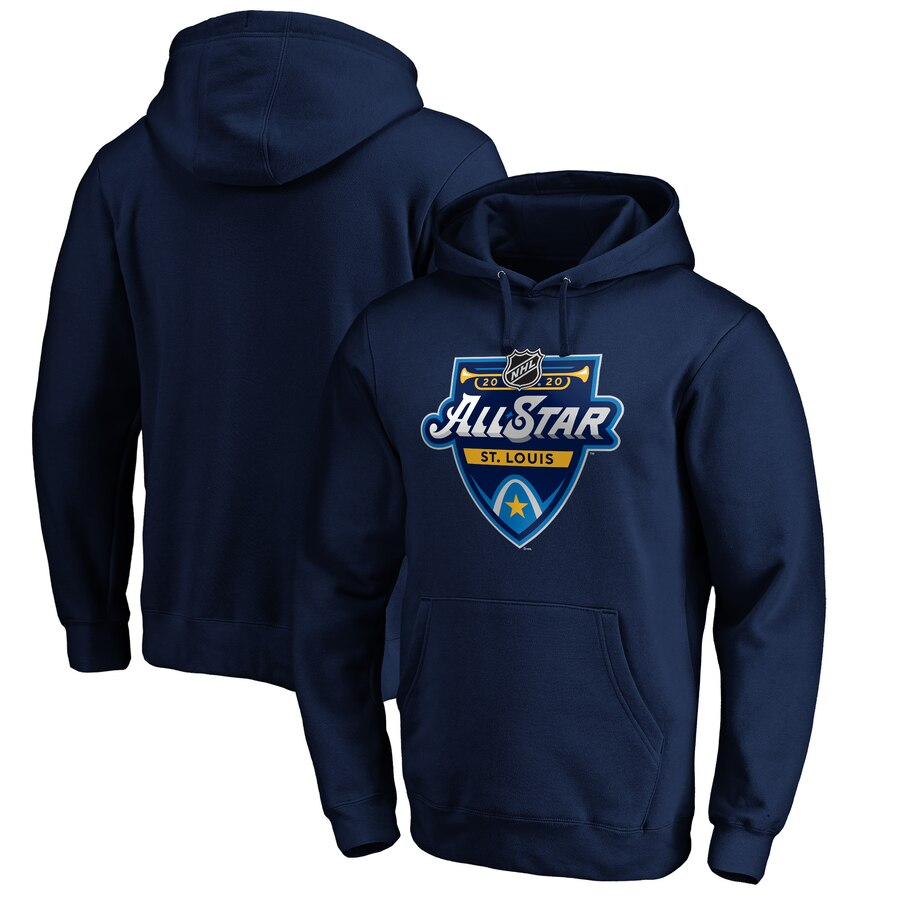 2020 NHL All-Star Game Pullover Hoodie Navy