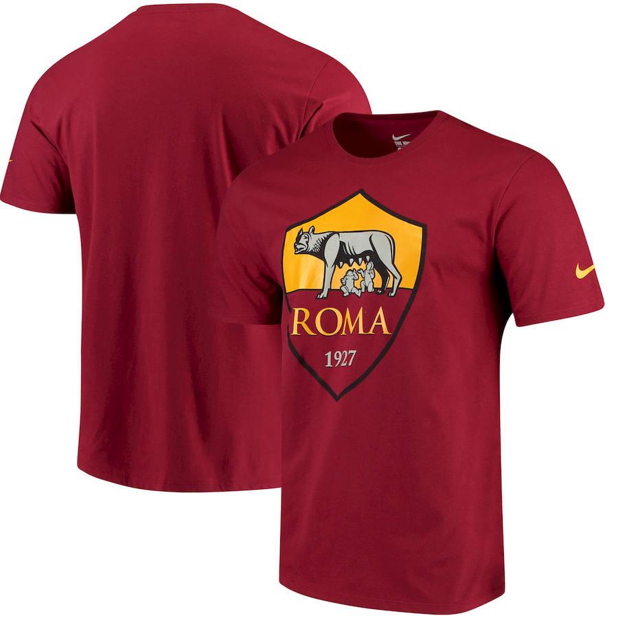 AS Roma Nike QT T-Shirt Red