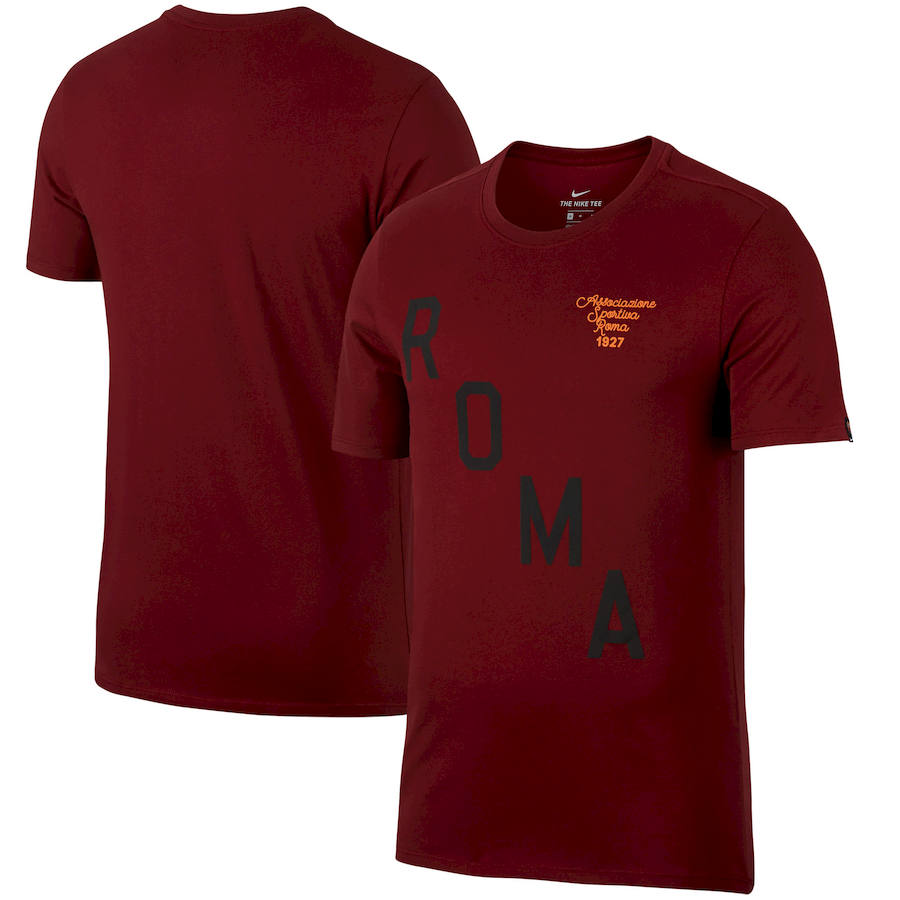 AS Roma Nike Squad T-Shirt Red
