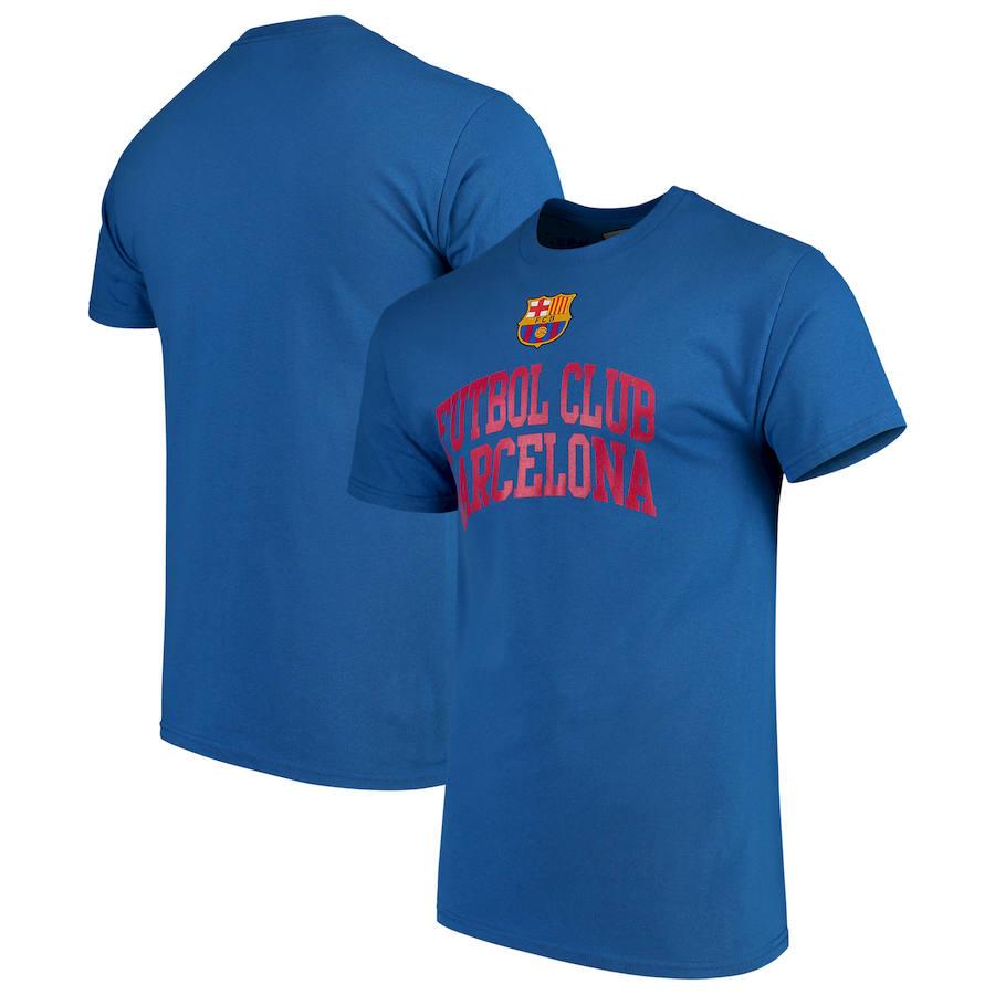 Barcelona Levelwear Arch Cotton T-Shirt Royal