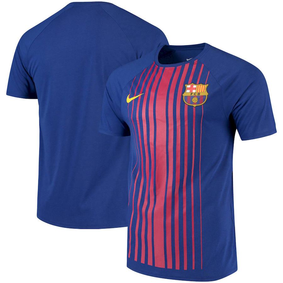 Barcelona Nike Match Performance T-Shirt Royal