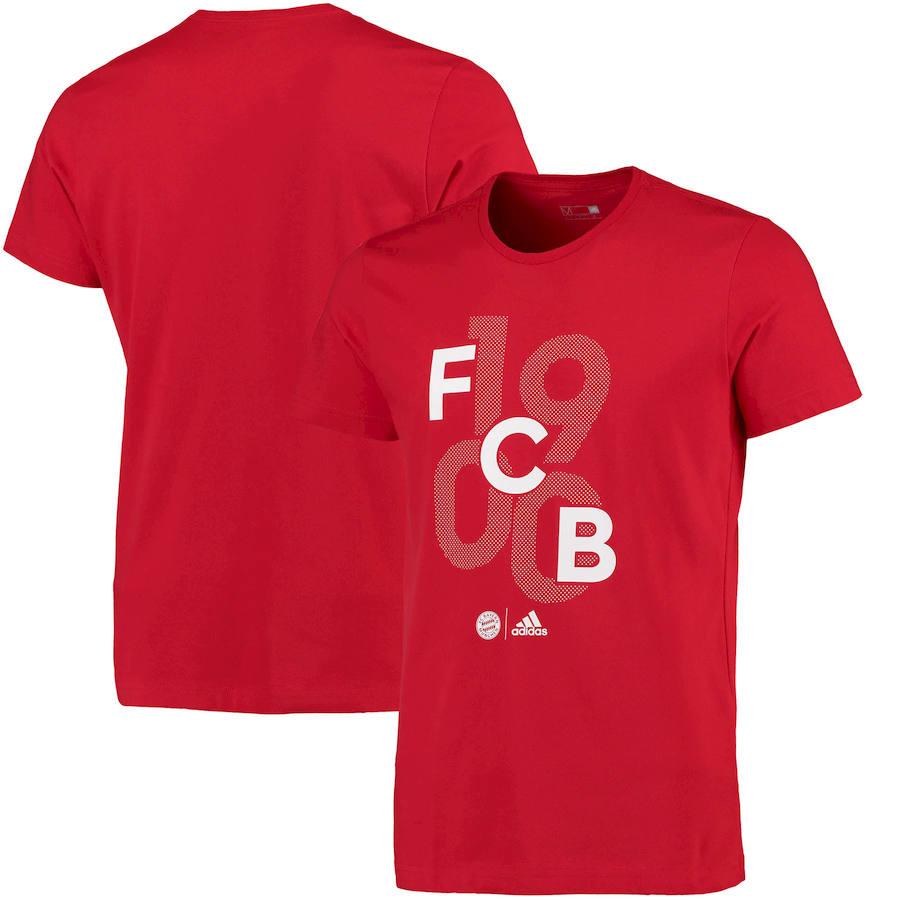 Bayern Munich adidas Goalkeeper Go T-Shirt Red