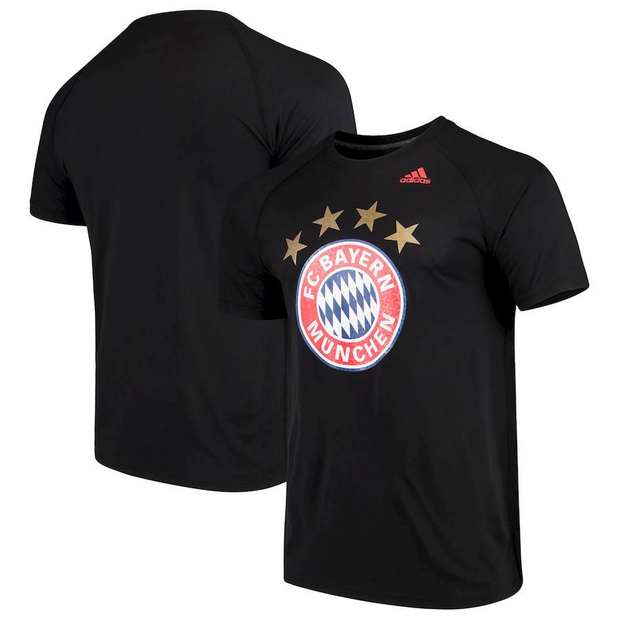 Bayern Munich adidas Primary Logo Ultimate T-Shirt Black