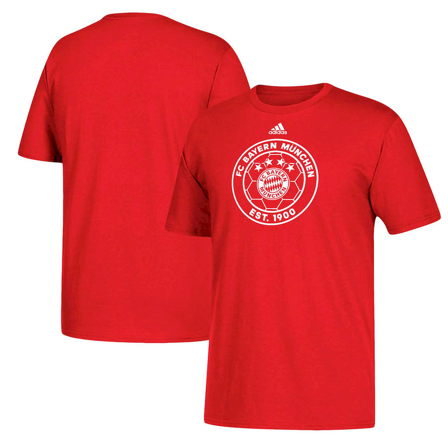Bayern Munich adidas Soccer Go-To T-Shirt Red