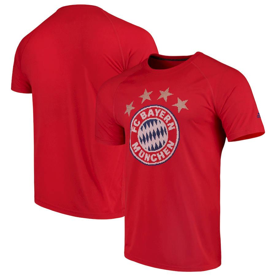 Bayern Munich adidas Tightly Knit Ultimate T-Shirt Red
