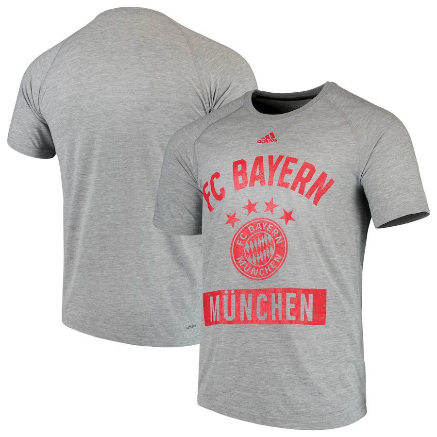 Bayern Munich adidas Ultimate Pass T-Shirt Heathered Gray