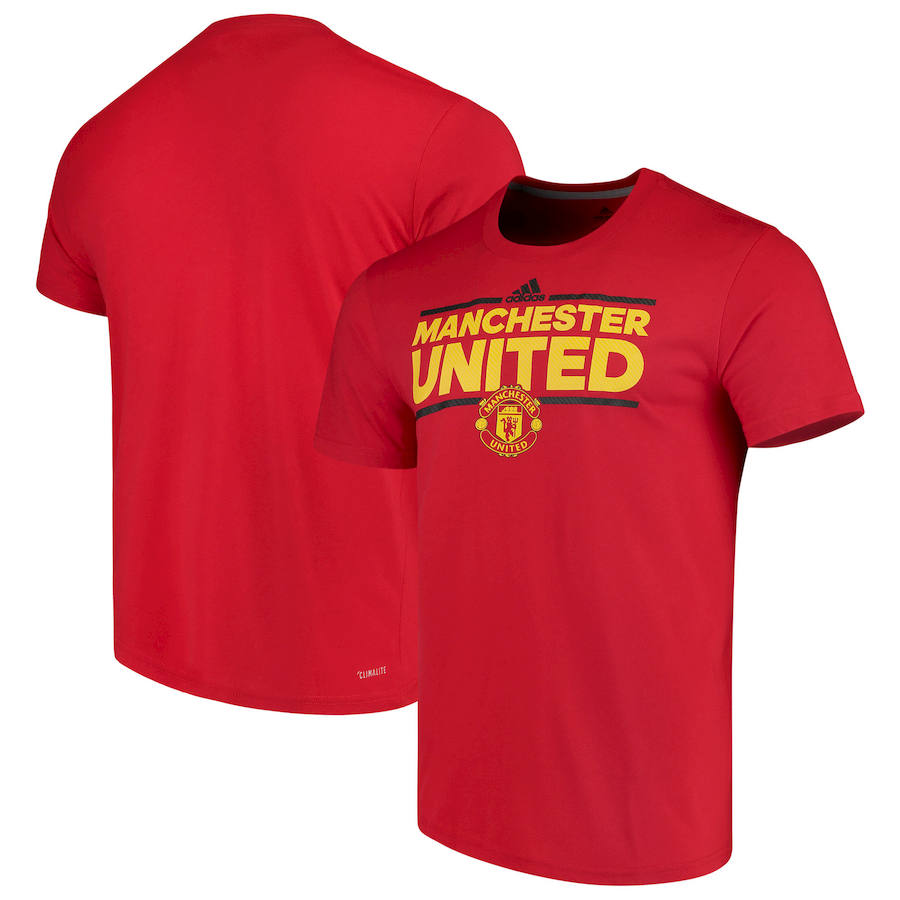 Manchester United adidas City Nickname T-Shirt Red