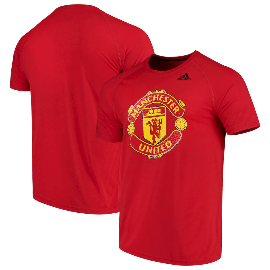 Manchester United adidas Primary Logo Ultimate T-Shirt Red
