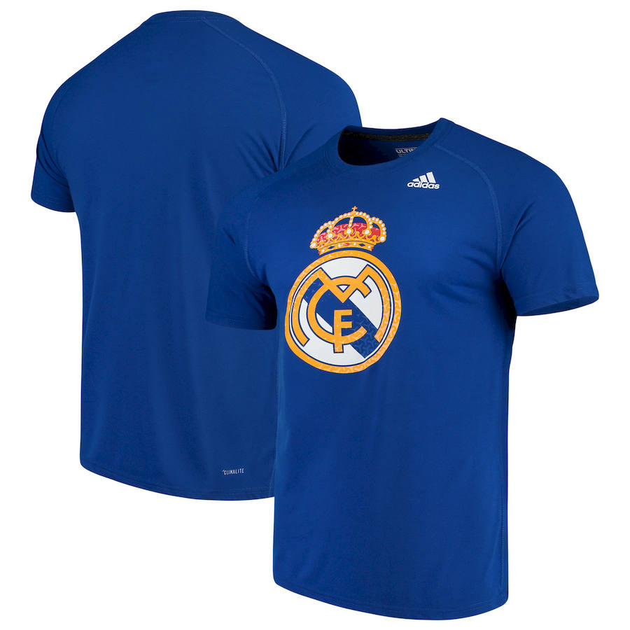 Real Madrid adidas Primary Logo Ultimate T-Shirt Royal