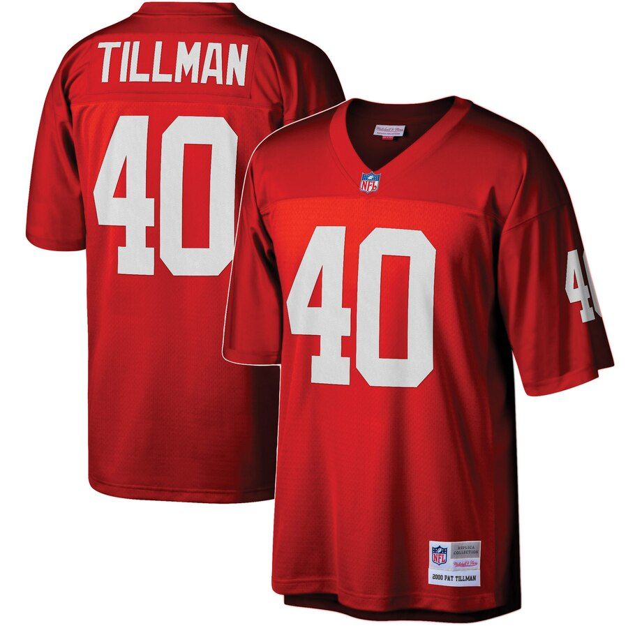 Youth Arizona Cardinals #40 Pat Tillman Mitchell & Ness Cardinal 1990 Legacy Retired Player Jersey