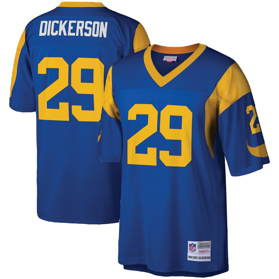 Youth Los Angeles Rams #29 Eric Dickerson Mitchell & Ness Royal 1984 Legacy Retired Player Jersey