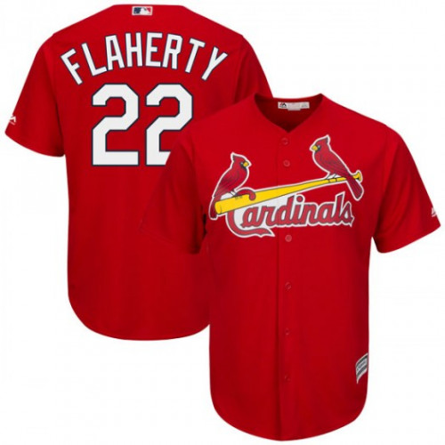 Cardinals #22 Jack Flaherty Red New Cool Base Stitched Youth MLB Jersey