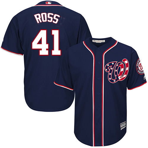 Nationals #41 Joe Ross Navy Blue New Cool Base Stitched Youth MLB Jersey