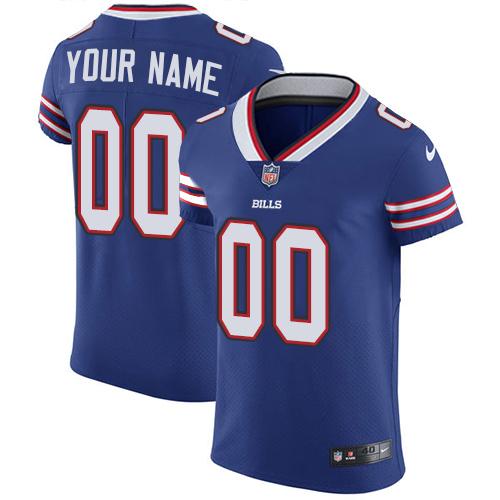 Nike Buffalo Bills Customized Royal Blue Team Color Stitched Vapor Untouchable Elite Men's NFL Jersey