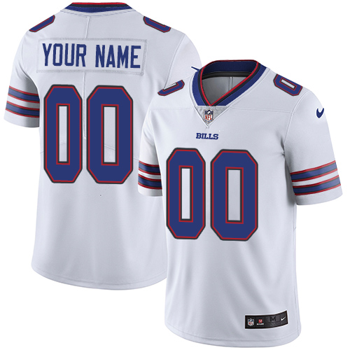 Nike Buffalo Bills Customized White Stitched Vapor Untouchable Limited Youth NFL Jersey