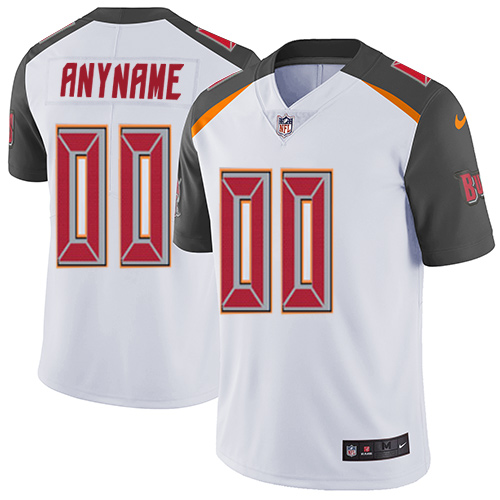 Nike Tampa Bay Buccaneers Customized White Stitched Vapor Untouchable Limited Men's NFL Jersey
