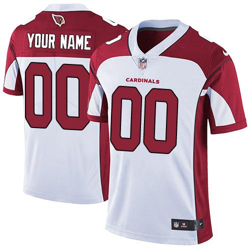 Nike Arizona Cardinals Customized White Stitched Vapor Untouchable Limited Youth NFL Jersey