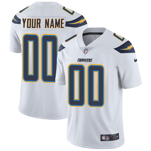 Nike San Diego Chargers Customized White Stitched Vapor Untouchable Limited Youth NFL Jersey