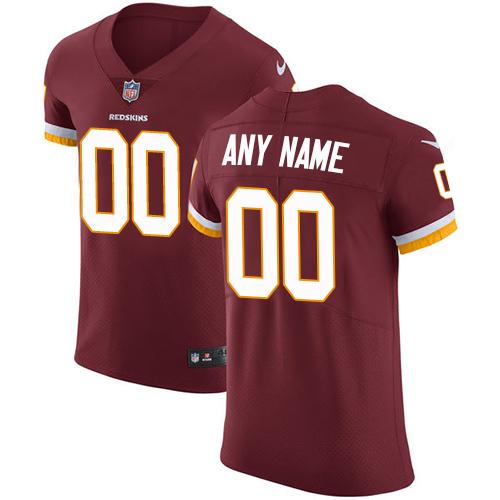 Nike Washington Redskins Customized Burgundy Red Team Color Stitched Vapor Untouchable Elite Men's NFL Jersey