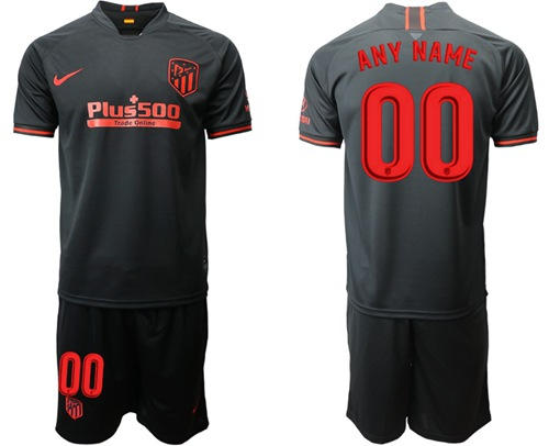 Atletico Madrid Personalized Away Soccer Club Jersey