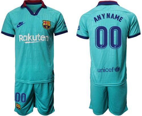 Barcelona Personalized Third Soccer Club Jersey