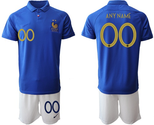 France Personalized 100th Anniversary Edition Soccer Country Jersey