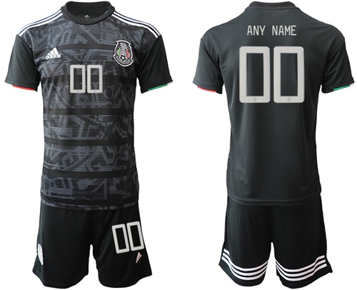 Mexico Personalized Home Soccer Country Jersey