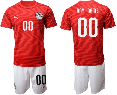 Egypt Personalized Home Soccer Country Jersey