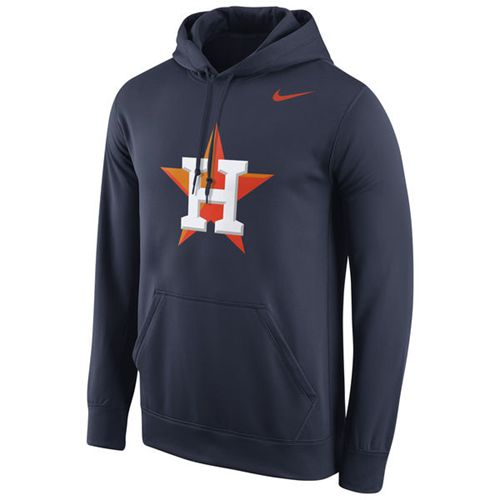 Houston Astros Nike Logo Performance Navy Pullover MLB Hoodie