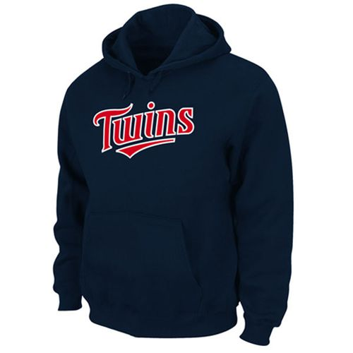 Minnesota Twins Majestic Fleece Hitter Navy MLB Hoodie