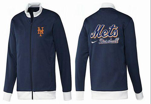 MLB New York Mets Zip Jacket Dark Blue