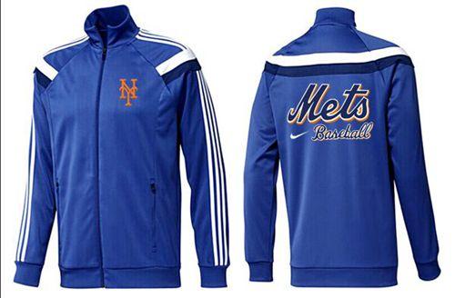 MLB New York Mets Zip Jacket Blue_2