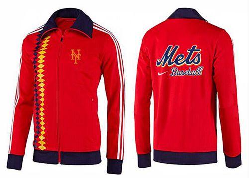 MLB New York Mets Zip Jacket Orange