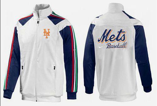 MLB New York Mets Zip Jacket White_1
