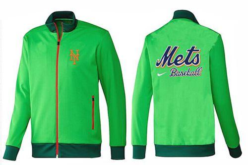 MLB New York Mets Zip Jacket Green